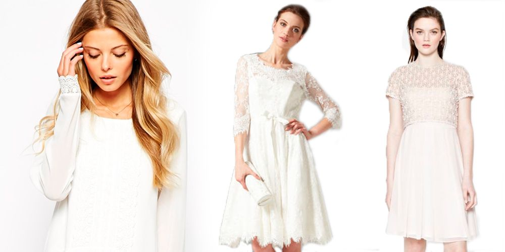alternative budget wedding dresses from the high street