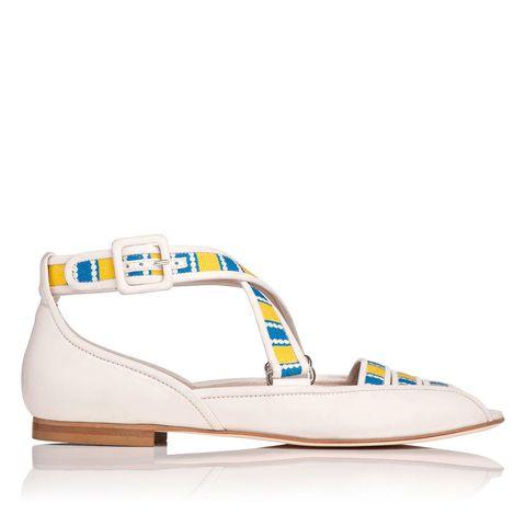 Virna shoes, £195, Laura Bailey for LK Bennett