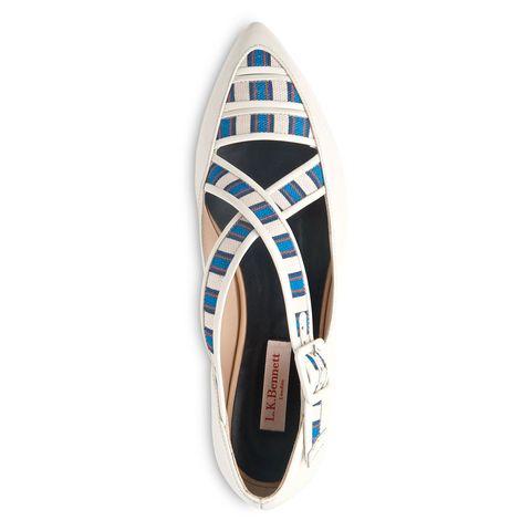 'Anna' shoe, £195, Laura Bailey for LK Bennett
