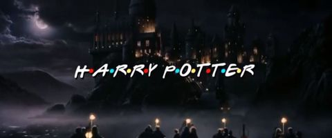 This is the Friends and Harry Potter mash-up we've been longing for