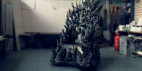 This Game of Thrones dildo throne does NOT look comfortable