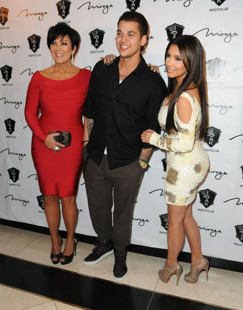 Kim and Rob Kardashian - Instagram post