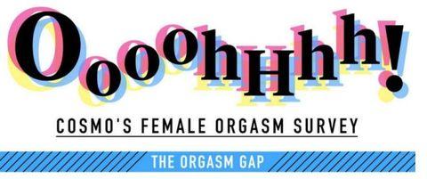 Cosmopolitan's female orgasm survey