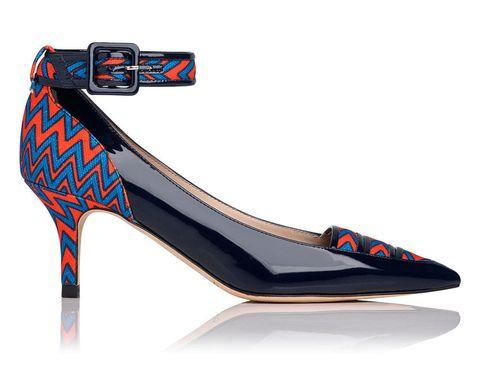 'Silvana' shoe, £245, Laura Bailey for LK Bennett