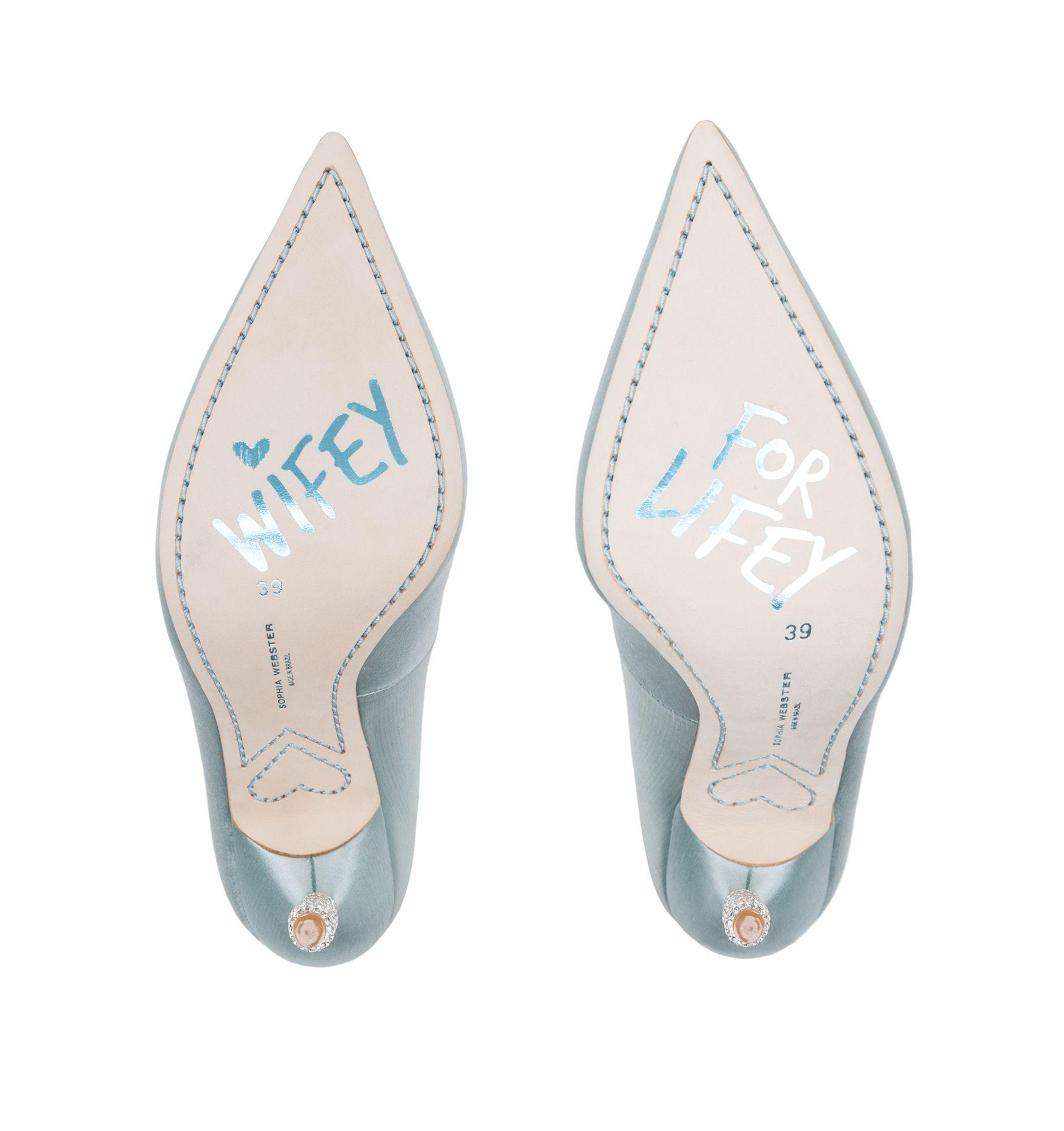 Wedding shoes by Sophia Webster