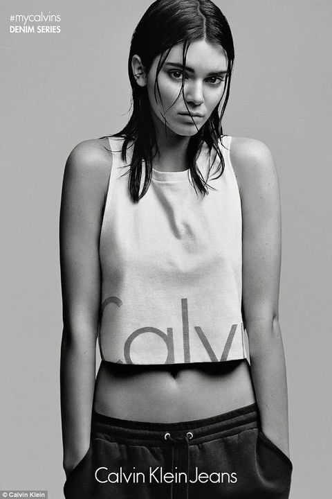 Kendall Jenner is announced as the new face of Calvin Klein