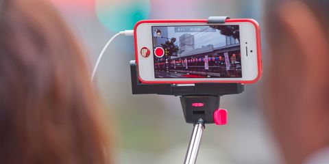 Selfie sticks are being banned at MORE festivals