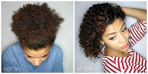 Twist And Shout How To Get Frizz Free Curls With Twist Outs