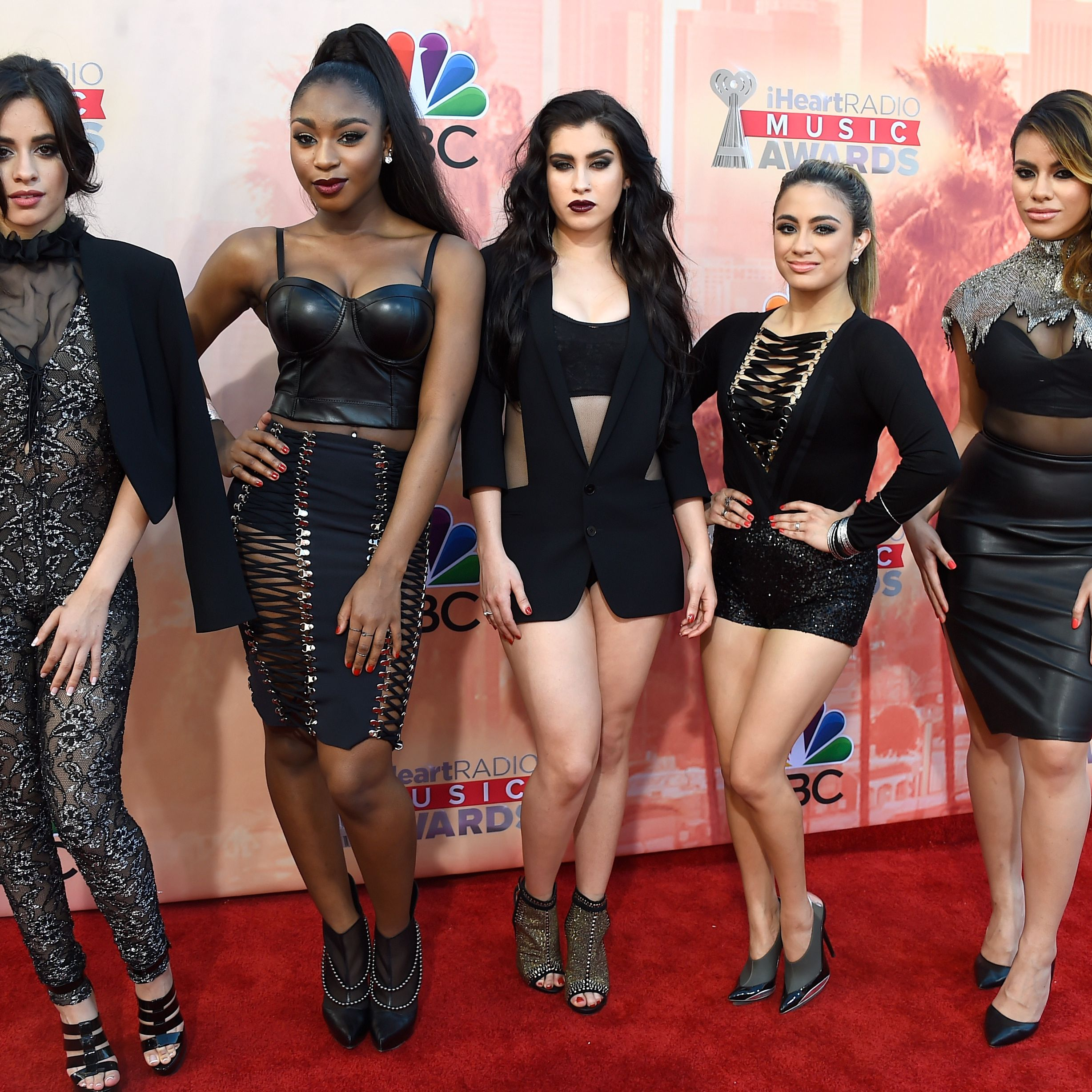 Fifth Harmony at the iHeartRadio Music Awards