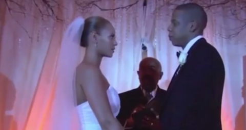 Jay Z And Beyoncé Have Shared A Clip Of Their Wedding Video