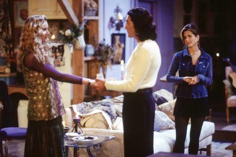 Rachel, Phoebe and Paolo