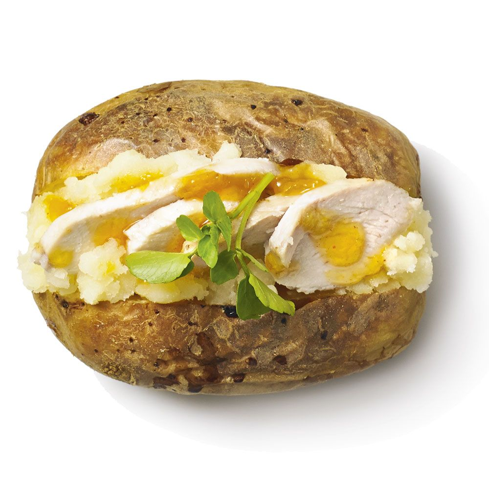 How to make a healthy jacket potato