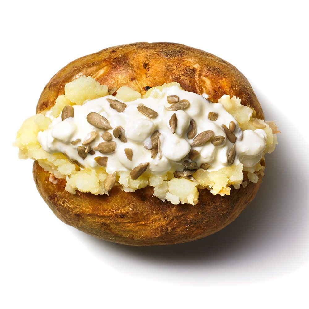 Recipes for how to make a healthy jacket potato