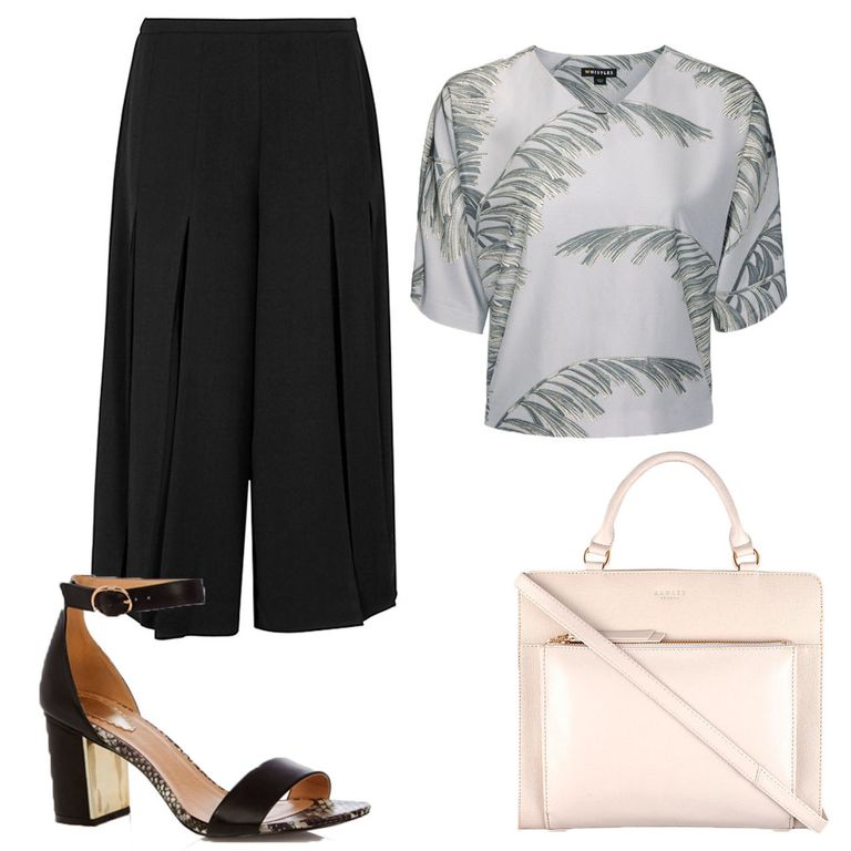 What to wear to work now it's hot: culottes