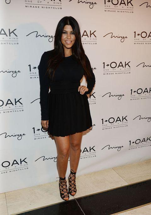 Kourtney Kardashian celebrates her birthday in style at a Las Vegas nightclub