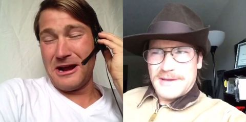 This guy's Robin Williams impressions are INCREDIBLE