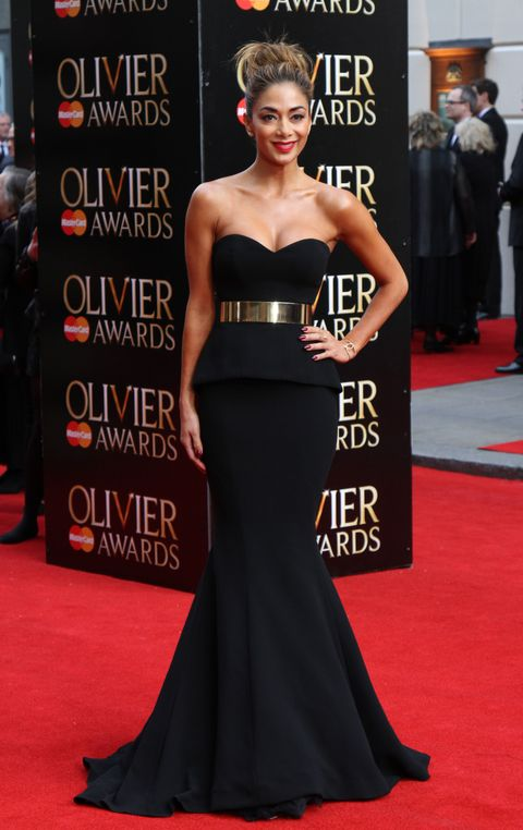 Nicole Scherzinger at the Olivier Awards 2015