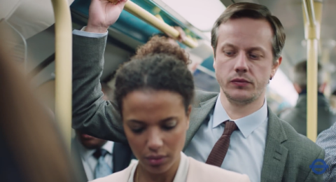 TFL and the police release the report it to stop it video campaign, encouraging people to report sexual harassment and assault on public transport