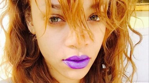 Rihanna - Freespirits Cosmetics Purple haze lipstick
