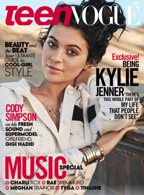 Kylie Jenner's Teen Vogue cover