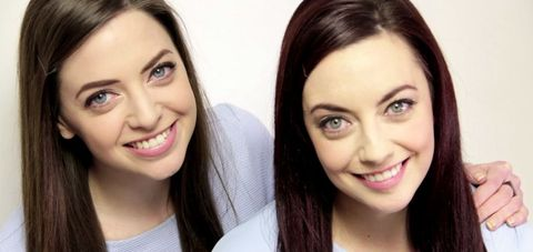 This women found her exact lookalike on social media