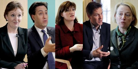 Cosmo meets the political parties to talk about our key issues for the general election 2015