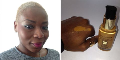 Max Factor Facefinity All Day Flawless foundation review for dark skin