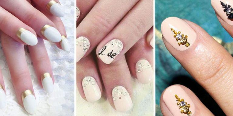 Chic nail art ideas - Chic Bridal Nail Art Ideas