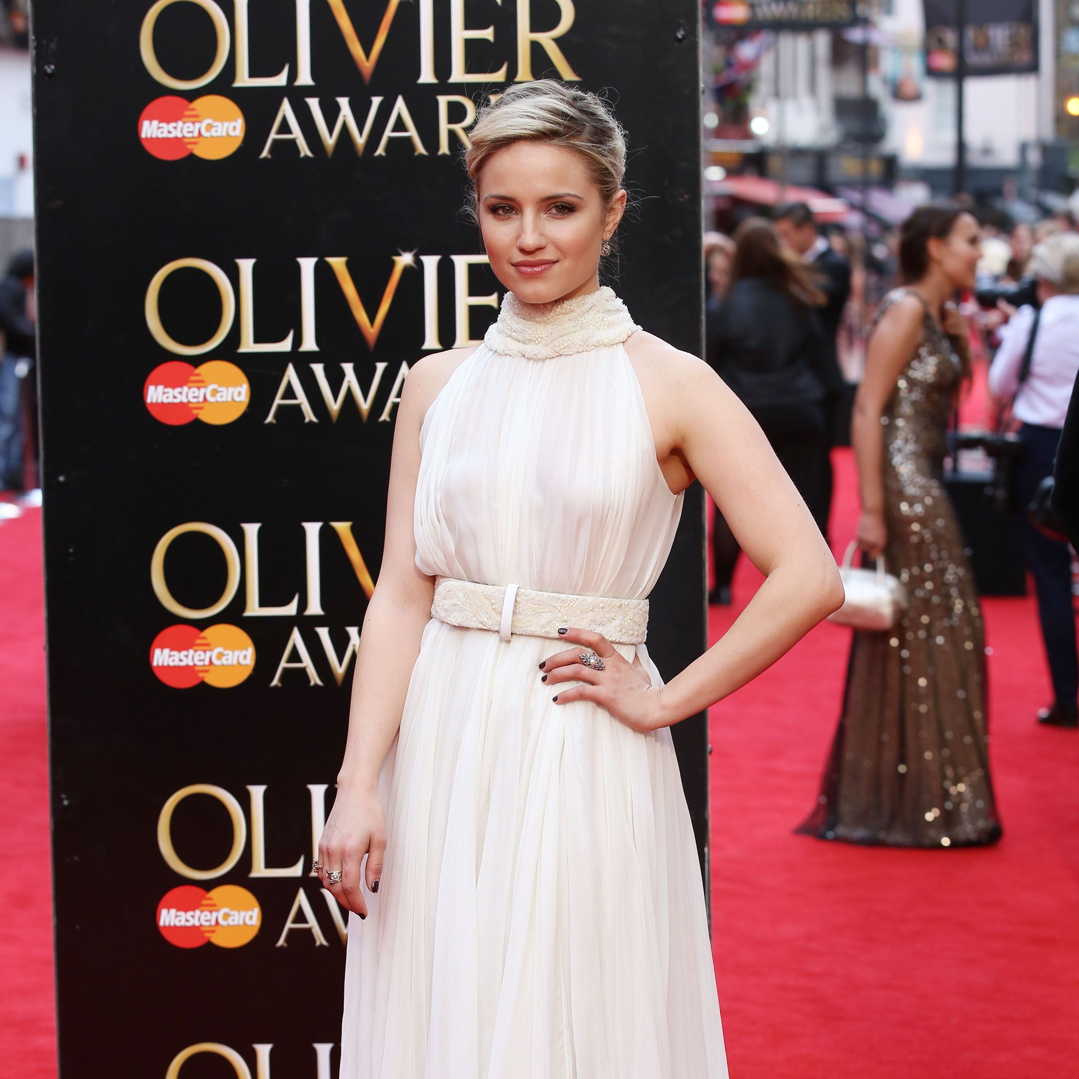 Dianna Agron at the Olivier Awards 2015