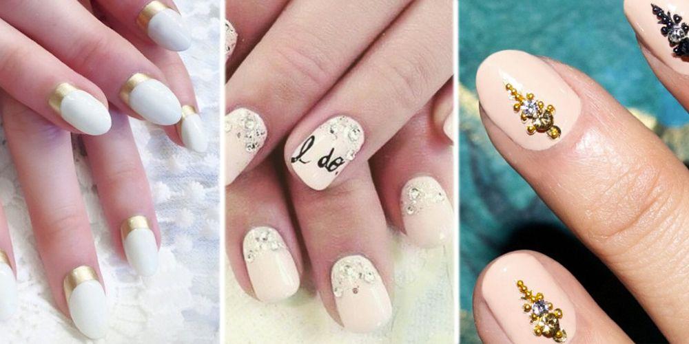 Chic Bridal Nail Art Ideas