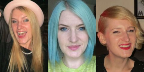 Amy Swales hair chameleon