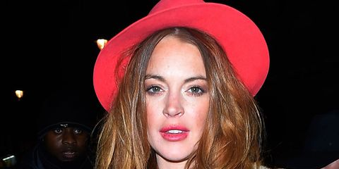 Lindsay Lohan just made the most hilarious Instagram error of all time