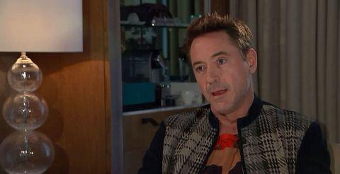 Robert Downey Jr walks out on Channel 4 interview