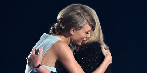 Taylor Swift's mum makes us want to cry with her emotional ACM speech