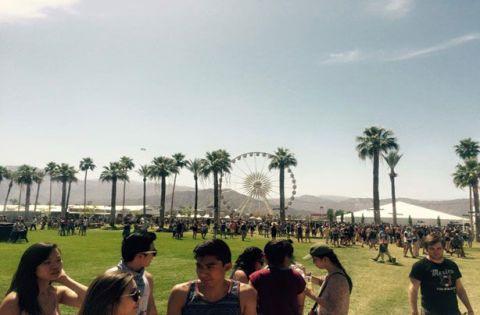 Coachella Festival ferris wheel
