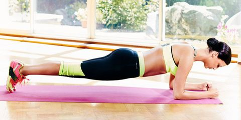 A sit-up-free stomach workout