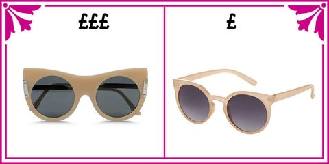 f19b84fcbfb4 The best designer sunglasses and their high street doppelgangers