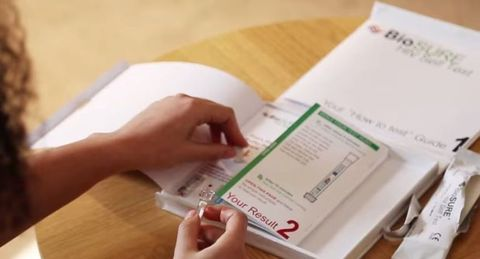 BioSure home test for HIV is now on sale
