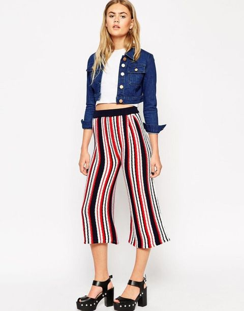How to wear culottes if you're tall, short or curvy