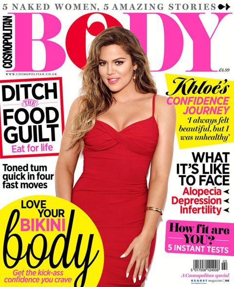 khloe kardashian talks plastic surgery health and body confidence