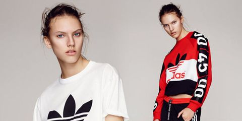 The new Topshop X Adidas collection has landed - here's what it looks like