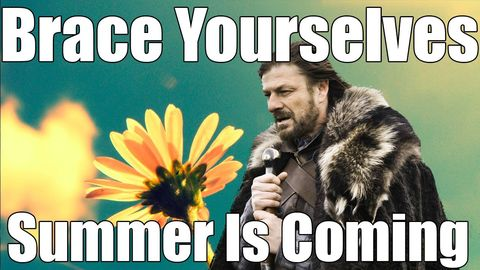 summer is coming game of thrones