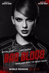Taylor Swift's Bad Blood music video posters