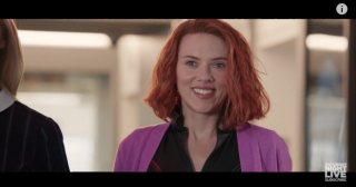 SNL airs a parody of Marvel's Black Widow movie, with Scarlett Johannsson playing character in a romantic comedy