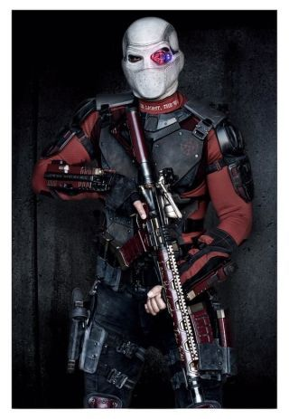 David Ayer tweets out the first group shot of Suicide Squad, followed by an individual photo of Deadshot