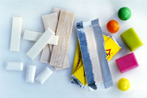Assorted chewing gum