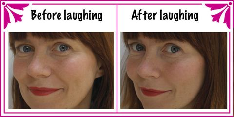 Can laughing transform your face?