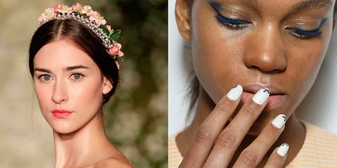 Floral beauty trends