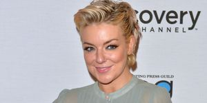 Sheridan Smith unveils a dramatically darker 'do at the BAFTAs