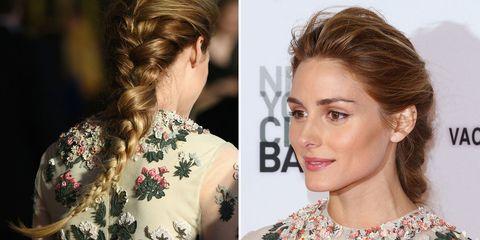 Olivia Palermo's amazing 4-strand braid